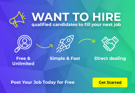 Want to Hire Candidates